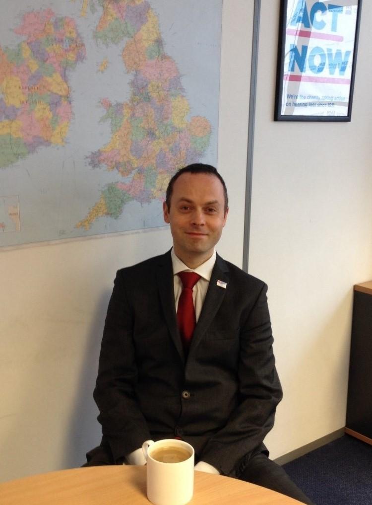 David Steadman, Executive Director of Fundraising & Marketing at Action on Hearing Loss