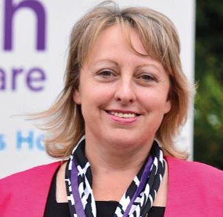 Liz Searle, CEO of Keech Hospice Care